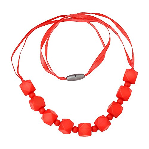 ComfyBaby Beads Silicone Teething Necklace product image