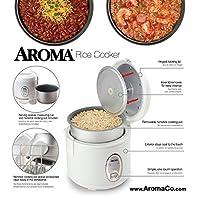 Aroma para el hogar 8 tazas (cocido) (4 tazas NO COOKED) Cool Touch Rice Cooker (ARC-914S)