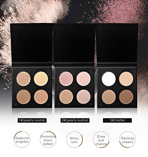 casa shop Concealer Whitening Makeup Highlight Contour Repair Powder Palette - Dior Bag Pink Christian