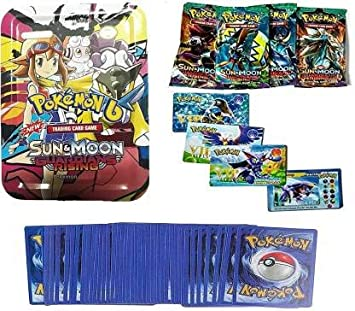 New Pokemon Guardian Rising Trading Cards with 4 Pokemon VIP Cards Free  (Multicolor)