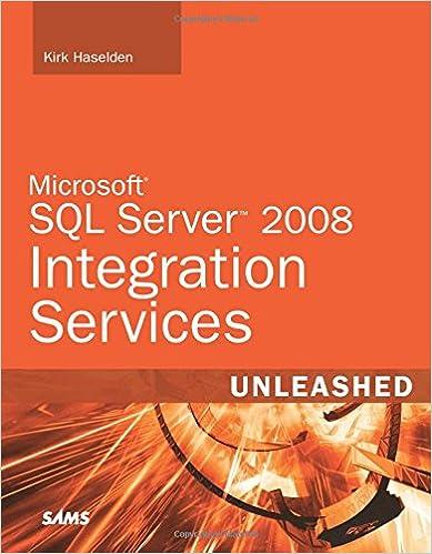 Microsoft sql server 2008 integration services unleashed kirk microsoft sql server 2008 integration services unleashed kirk haselden 0752063330326 amazon books fandeluxe Choice Image