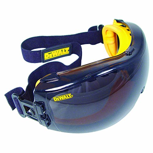 DeWalt DPG82-21 Concealer SAFETY Goggle - Smoke Anti-Fog Lens (1 Pairper Pack)