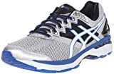 ASICS Men's GT 2000 4 Running Shoe, Silver/White/Royal, 11 M US