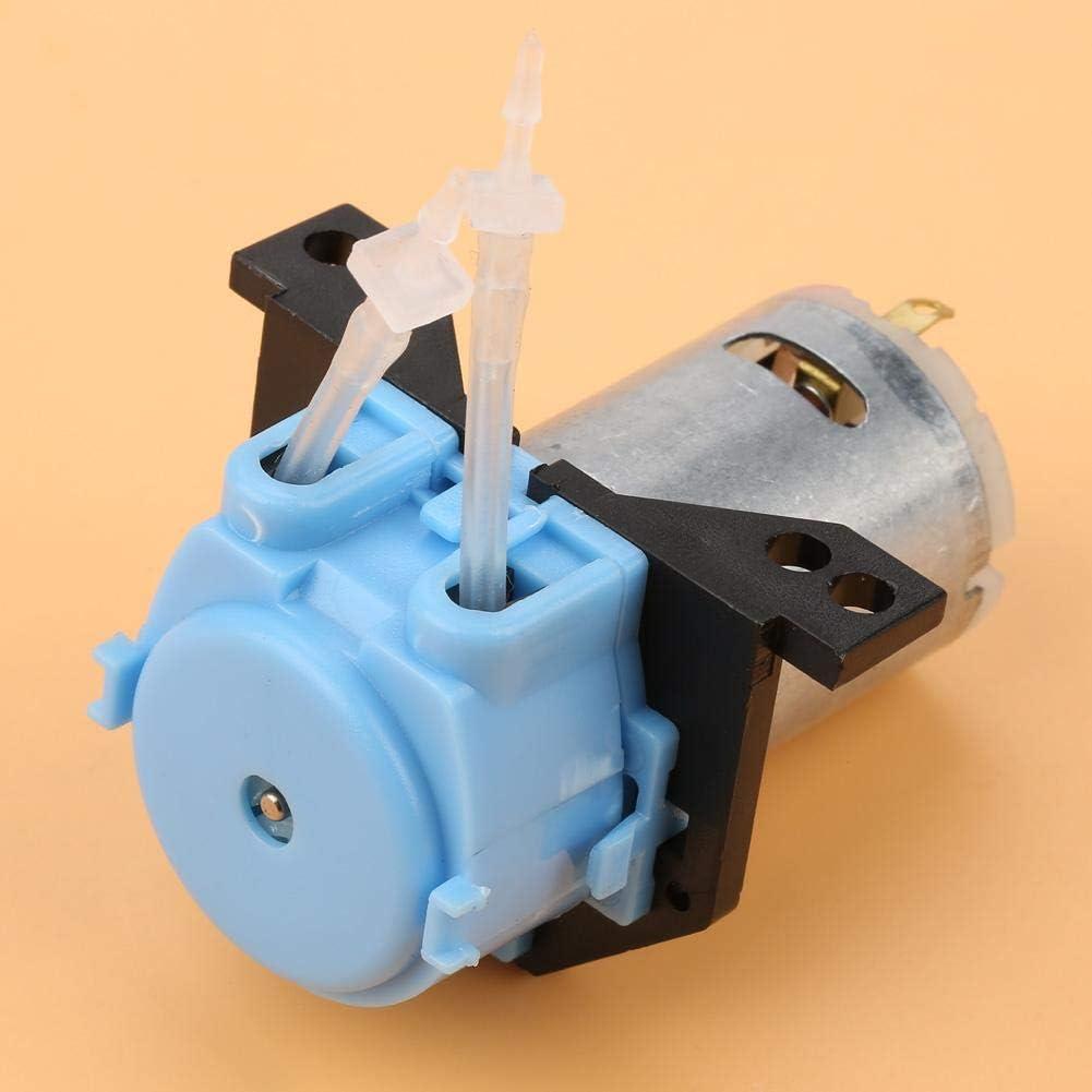 24V Bomba Dosificadora DIY Cabeza de Tubo Perist/áltico Para el Laboratorio de An/álisis Qu/ímico Qu/ímico Blue12v 3 * 5 FTVOGUE Bomba Perist/áltica DC12V