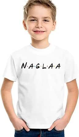 kharbashat Naglaa T-Shirt for Boys, Size 32 EU