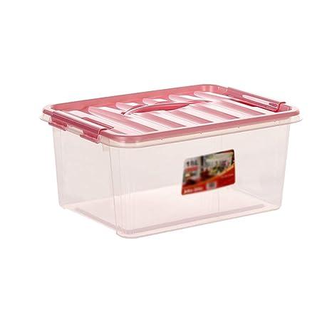 Amazon.com: Caja de almacenamiento de plástico transparente ...