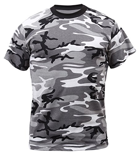 - Rothco Camo T-Shirts, City Camo, 2X-Large
