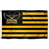 Cheap KSU Owls Stars and Stripes Nation College Flag
