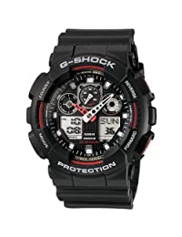 Casio Men's GA100-1A4 G-Shock X-Large Analog-Digital Black Dial Sports Watch