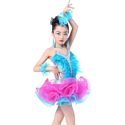 Vestido de baile de las niñas, Niños Niñas Sin respaldo ...