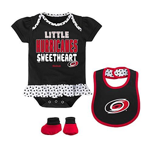 Adidas Black Bib - NHL Infant Hurricanes