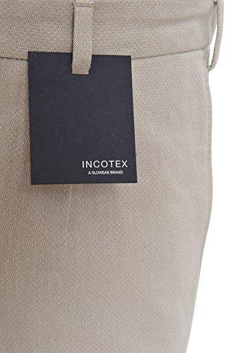 Incotex Pantalon Homme 50 Beige / Short Taille normale Coupe droite