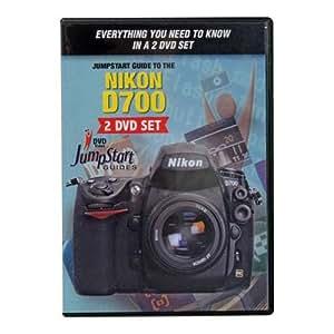 JumpStart Video Training Guide for the Nikon D700 Digital SLR Camera on DVD (2 Disc Set)