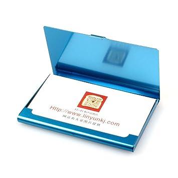 Visitenkartenhalter Metall Business Card Case Slim Name Card