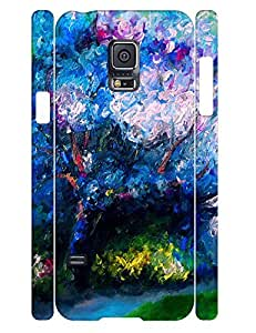 Design Classy Trees Pattern Tough Phone Drop Proof Case for Samsung Galaxy S5 Mini SM-G800