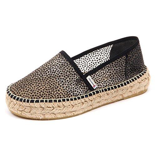 Espadrillas Donna scarpe Loafer Transparent D2564 Espadrilles Espadrilles Espadrilles Tissue   cbde8b
