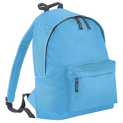 BagBase - Bolso mochila  para mujer Azul/gris grafito