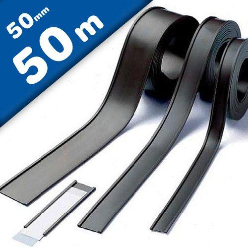 Profili a C // etichette magnetiche Etichette magnetiche per scaffalature e arredi metallici larghezza 50 mm venduto al 50m rotolo
