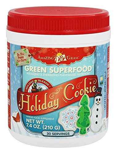 Amazing Grass Superfood Holiday Cookie