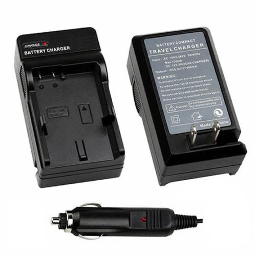 ANTOBLE Battery Charger + Car Charger for JVC Everio GZ-MG63