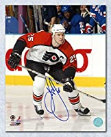 KEITH PRIMEAU Philadelphia Flyers SIGNED 8x10 Photo - Autographed NHL Photos