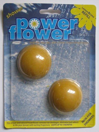 Power-Flower Shower Drain Cleaner & Shower Freshener DOUB...