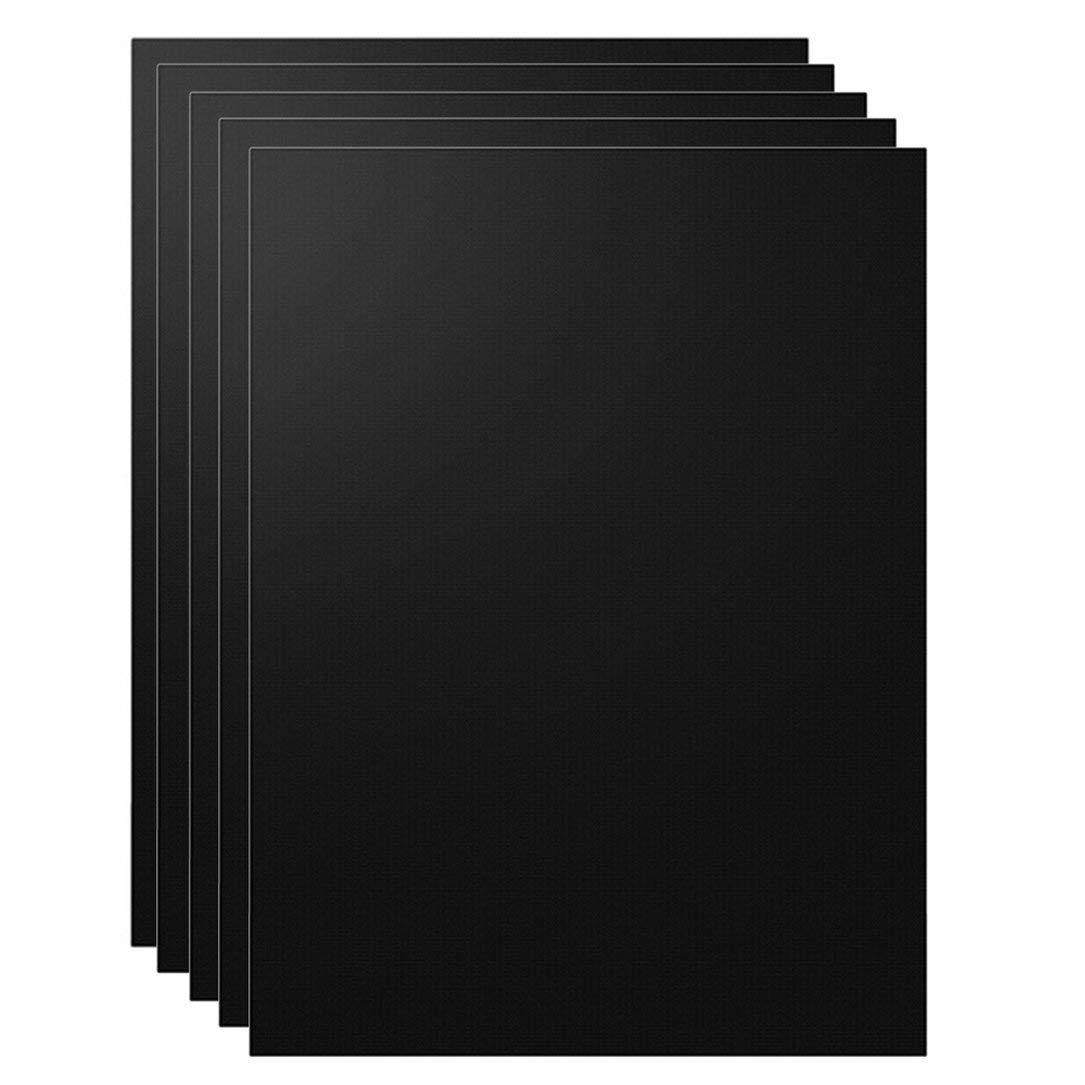 Negro hanfang Alfombra de Barbacoa de Barbacoa Resistente a Altas temperaturas Antiadherente de Fibra de Vidrio