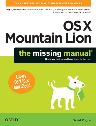 OS X Mountain Lion: The Missing Manual (Missing Manuals) (Ios Lion)