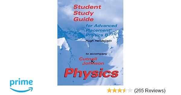 Amazon physics ap student study guide 9780471268505 john d amazon physics ap student study guide 9780471268505 john d cutnell hugh henderson books fandeluxe Gallery