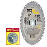 IVY Classic 36173 Ripcross 4-1/2-Inch 36 Tooth Thin Kerf Carbide...