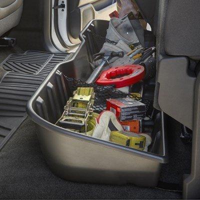 under rear seat storage - 6