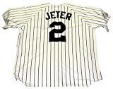 #3: Derek Jeter New York Yankees Unsigned Majestic Baseball Jersey - Size L
