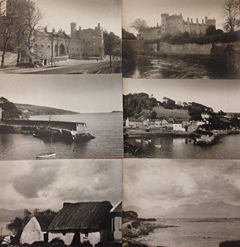 Country Castles - Vintage Early 20th Century Ireland Countryside Castle Boats Homes 6 Photograph Portfolio