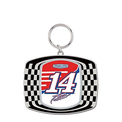 NASCAR Tony Stewart Metal Checkered Key (Stewart Nascar Key)