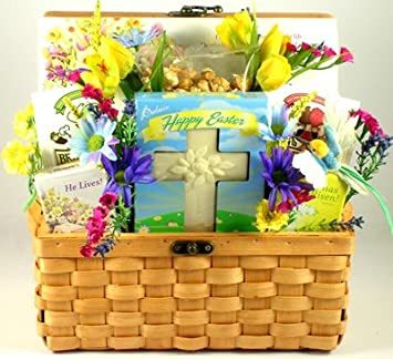 Amazon gift basket village the spirit of easter christian gift basket village the spirit of easter christian easter gift basket negle Images
