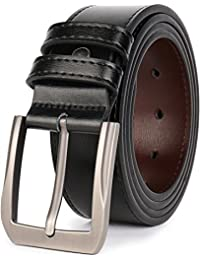 Men's Dress Belts Genuine Leather 1.5