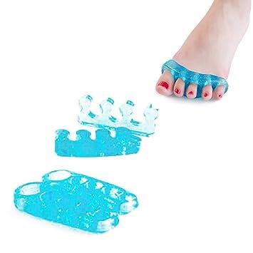 Xiton original ToePal, separadores de dedos y Streightener del dedo del pie para descansar los