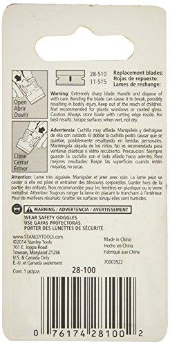 "076174281002 - Stanley 28-100 1-3/16""  inch High Visibility Mini-Razor Blade Scraper carousel main 1"