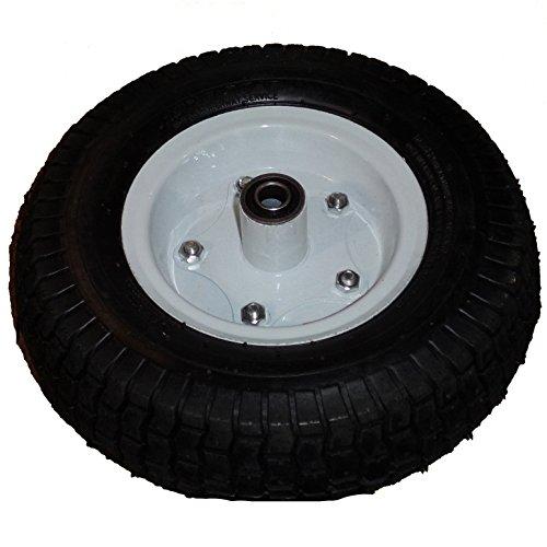 "Millside Pneumatic Flat-Free Tire Replacement, 4 x 10"""