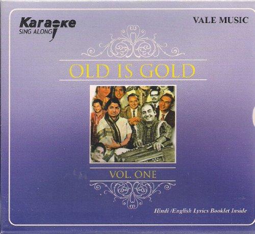 Karaoke Sing Along Old Is Gold Vol 1 (Hindi / English Lyrics Booklet Inside) (Hindi Karaoke Cd)