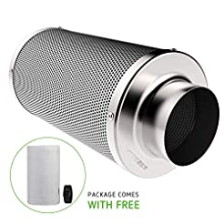 VIVOSUN 4 Inch Air Carbon Filter Odor Co...