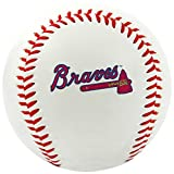 MLB Atlanta Braves Team Logo Baseball, Official, White