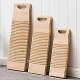 DOITOOL Wooden Washboard Bamboo Washing Clothes
