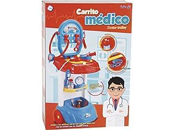 IMITOYS Carro Doctor con Accesorios 72x31x25cm: Amazon.es: Juguetes y juegos