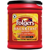 Folgers Breakfast Blend Ground Coffee, 10.8 Ounce (Pack of 6) by Folgers