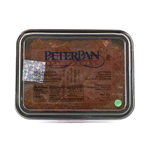 (Pink Salmon Caviar  by Peter Pan 500 grams)