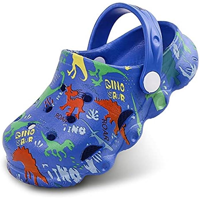 Aixingyun Kids Clogs Shoes Boys Girls Garden Slip On Shoes Toddler Clogs Children Slides Slippers Indoor Outdoor Beach Pool Shower Sandals