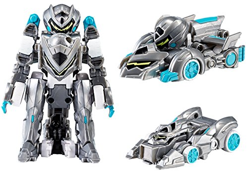 MONKART BEATCOMBO BEATROID 11-Transformer Robots Mini Cars Card Play Kids Toy