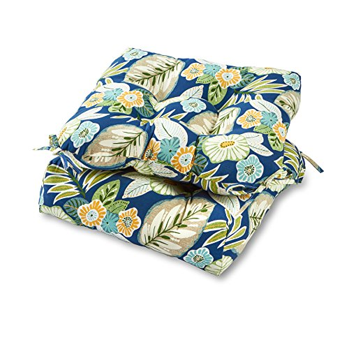 Greendale Home Fashions 20-inch Outdoor Chair Cushion (set of 2), Marlow