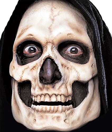 Woochie by Cinema Secrets Skull Foam Prosthetics, Multi, One (Woochie Prosthetic)